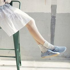 Fitight - 多褶堆堆袜