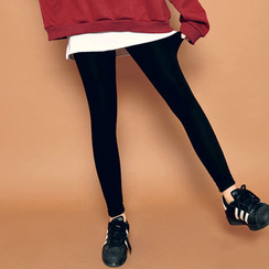 HOTPING - Inset Skirt Leggings
