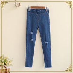 Fairyland - Distressed Skinny Jeans
