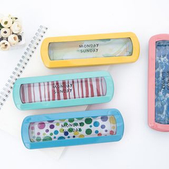 Show Home - Transparent Metal Pencil Case