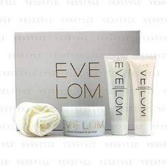 Eve Lom - Luxury Collection: Cleanser 100ml + TLC Radiance Cream 50ml + Rescue Mask 50ml + Muslin Cloth