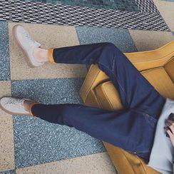 Harvin - Fleece Lined Slim Fit Jeans