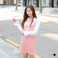 OrangeBear - Vest Shift Dress