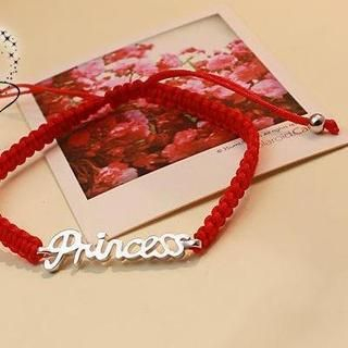 Love Generation - Lettering Braided Bracelet