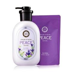 HAPPY BATH - Peace Set: Body Wash 500g + Refill 250g