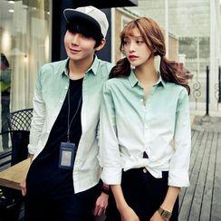 Azure - Couple Matching Gradient Shirt