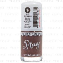 Etude House - Play Nail Color 028 (#BR404) Paint