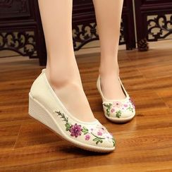 Diosa - Floral Wedges