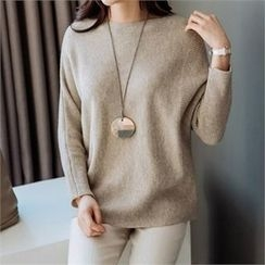 JOAMOM - Dolman-Sleeve Knit Top