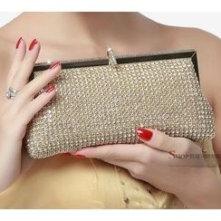 Glam Cham - Rhinestone Evening Clutch