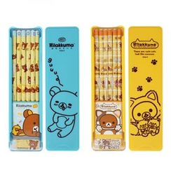iswas - Set: 'Rilakkuma' Series Pencil + Pencil Case