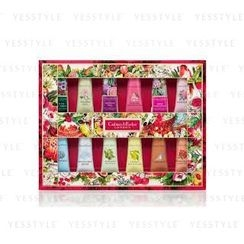Crabtree & Evelyn - Hand Therapy Sampler Set :La Source + Gard + Rose + Pom + Citron + Pea + Nantucket + S hill + Avo + Rose Pineapple + Fest Fig + Earl Grey