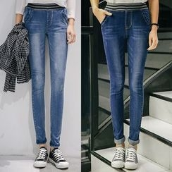 CASSY - Washed Skinny Jeans