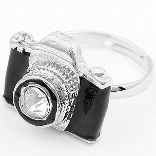 TAIPEI STAR - Rhinestone Camera Ring