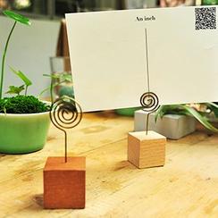 MissYou - 木質名片夾