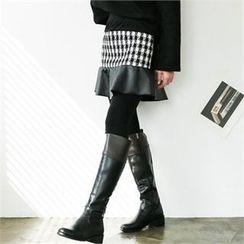 GLAM12 - Inset Skirt Leggings