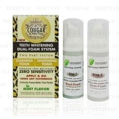 Cougar Beauty Products - Cougar Teeth Whitening Dual-Foam System (Mint Flavor)