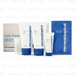 Dermalogica 德美乐嘉 - Body Therapy Skin Kit: Body Wash + Hydrating Crml+ Exfoliating Scrub + Climate Control Lip Trt