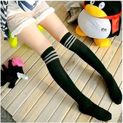 Little Flower - Over-the-Knee Socks