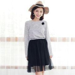 Tokyo Fashion - Mock Two-Piece Dress