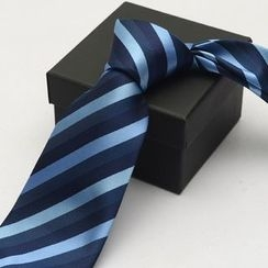 Romguest - Striped Neck Tie (9cm)