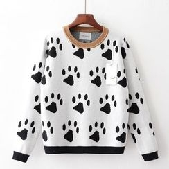 Tulander - Paw Print Sweater