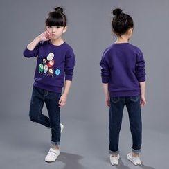 SEE SAW - Kids Long-Sleeve Printed Top