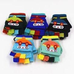 Evora - Kids Color Panel Gloves