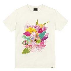 the shirts - Floweriness Print T-Shirt