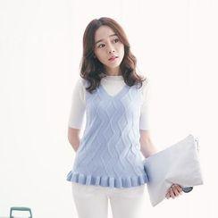 Tokyo Fashion - Ring Knit Vest