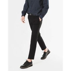 STYLEMAN - Flat-Front Dress Pants