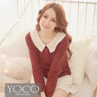 Tokyo Fashion - Mock Two-Piece Lace Dress