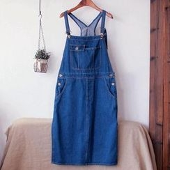tete - Denim Jumper Skirt