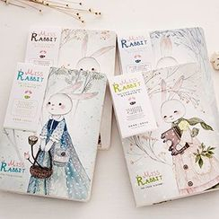 Show Home - Rabbit Printed Notebook (M)