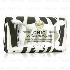 Nesti Dante - Chic Animalier Natural Soap - Hibiscus, Baobab Milk and Freesia