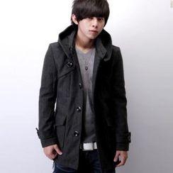 SeventyAge - Hooded Coat