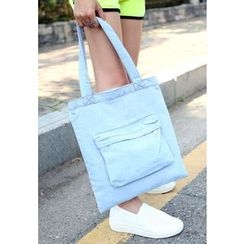 REDOPIN - Washed Denim Tote