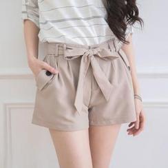 Tokyo Fashion - Tie-Waist Shorts