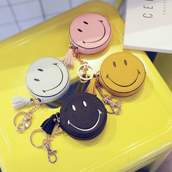 Youshine - Smiley Face Coin Purse with Tassel