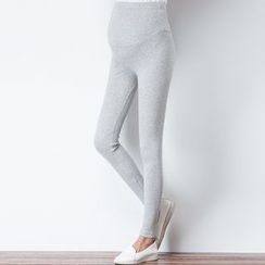 Oulimom - Maternity Ribbed Leggings