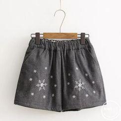 PANDAGO - Embroidered Shorts
