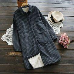 YOYO - 条纹长衬衫