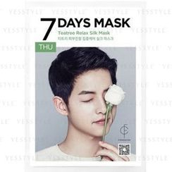 forencos - 7 Days Mask Teatree Relax Silk Mask (Thursday)