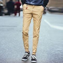 Telvi - Plain Slim Fit Pants