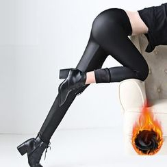 Happy Girl - Fleece-Lined Leggings