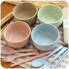 Momoi - Pain Bowl / Cutlery Set