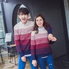 CASSY - Gradient Couple Matching Sweater