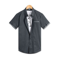 TheLees - Short-Sleeve Button-Down Shirt