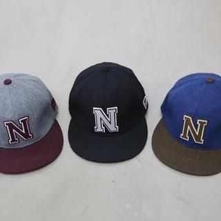 NANING9 - Embroidered Wool Blend Cap