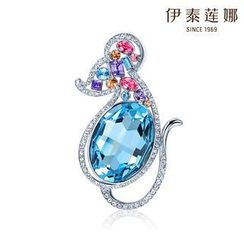 Italina - Swarovski Elements Crystal Chinese Zodiac Brooch